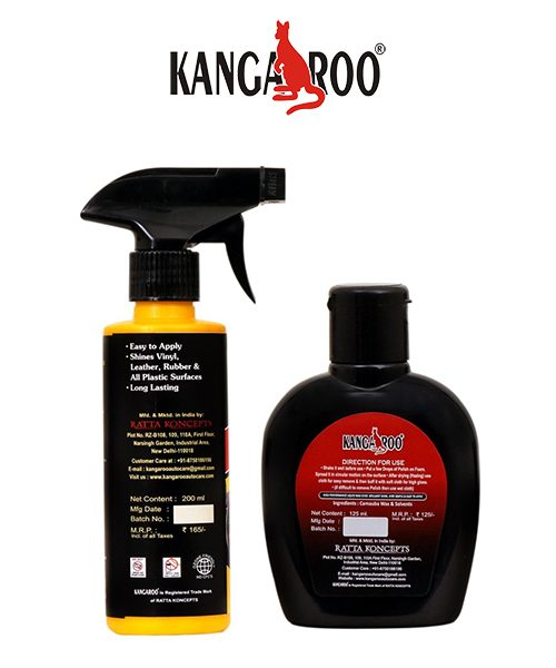 kangaroo dash board dresser-car polish
