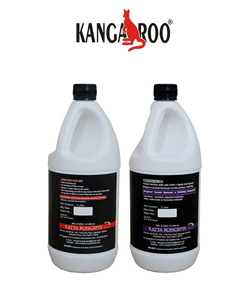 kangaroo dash board polish- scratch remover