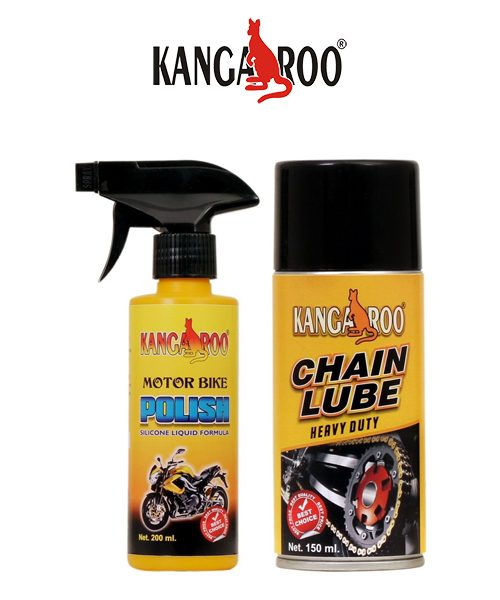 kangaroo motorbike polish-chain lubricant Spray