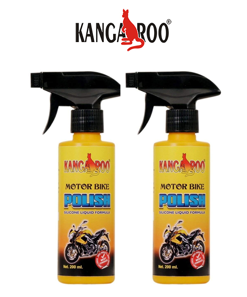 kangaroo motorbike polish spray 200 ml