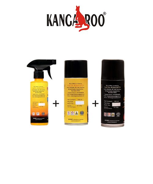kangaroo motorbike polish-chain lubricant spray-cleaner
