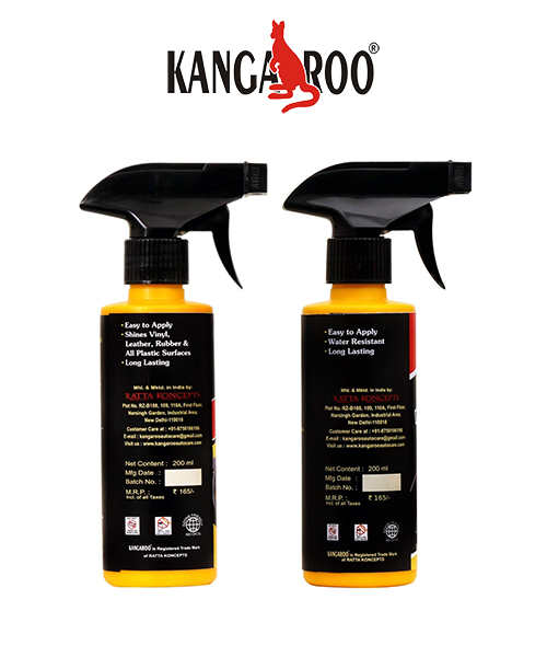 kangaroo dash board-tyre-dresser-200 ml