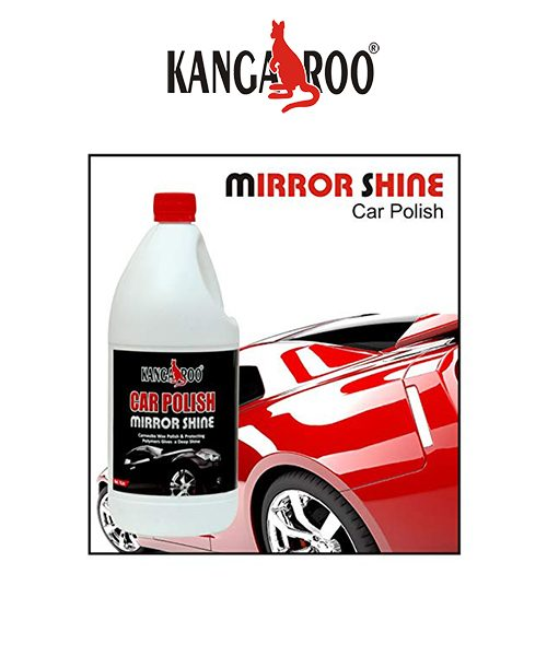 kangaroo car polish mirror shine