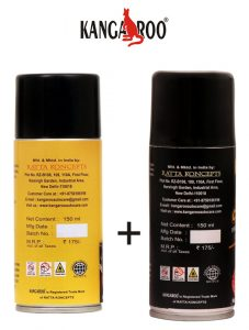 kangaroo chain-cleaner-lube-150 ml