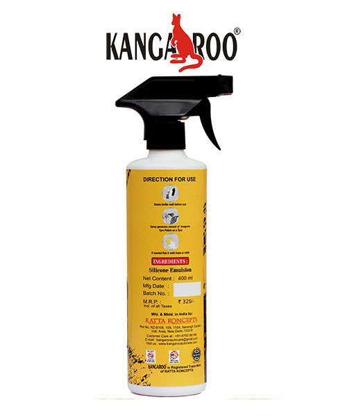 kangaroo spray polish 400 ml
