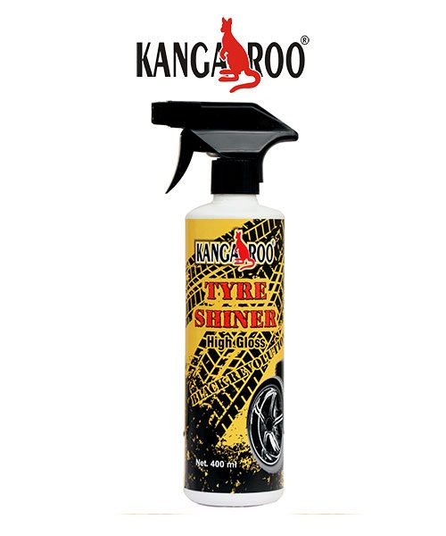 kangaroo tyre shiner spray 400 ml
