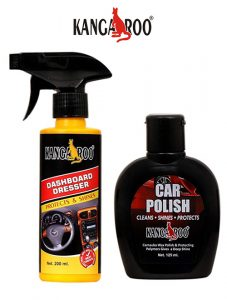 kangaroo dashboard dresser-car polish