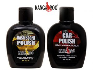 kangaroo dash board-car-polish