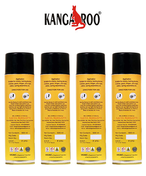 kangaroo chain lube 500ml