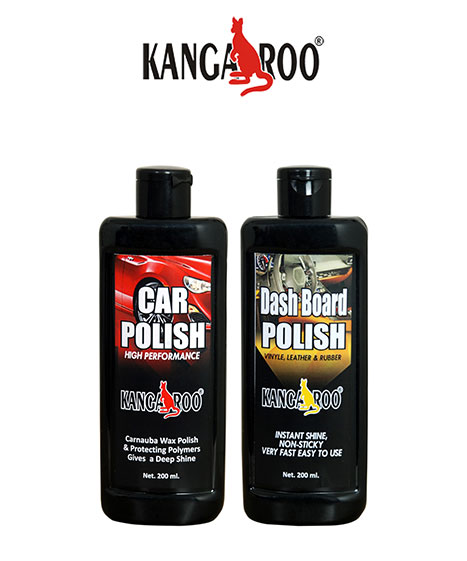 kangaroo car dash board polish 200ml