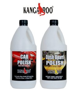 Kangaroo high gloss car dash board polish